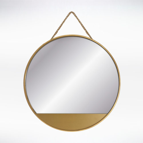 Metallic Dip Mirror