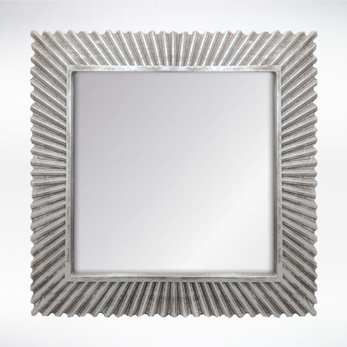Silver Distressed Mirror