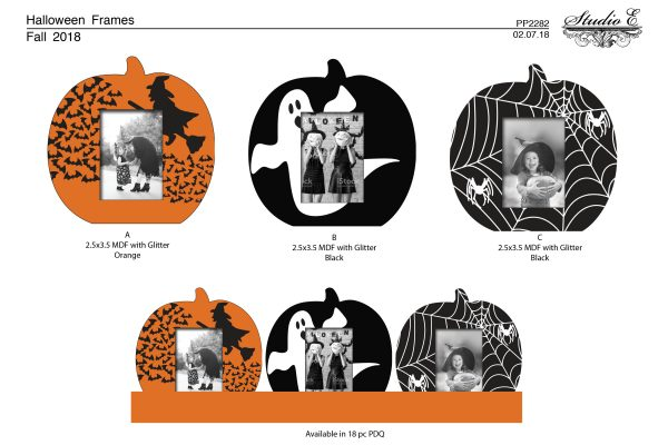 PP2282 Halloween Frames