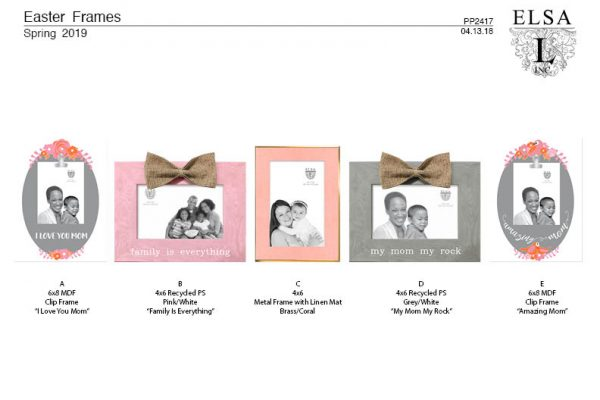 PP2417 Mothers Day Frames