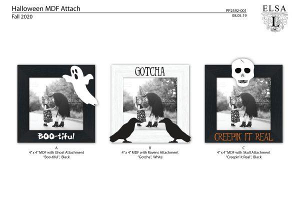 PP2592-001 Halloween MDF Attach