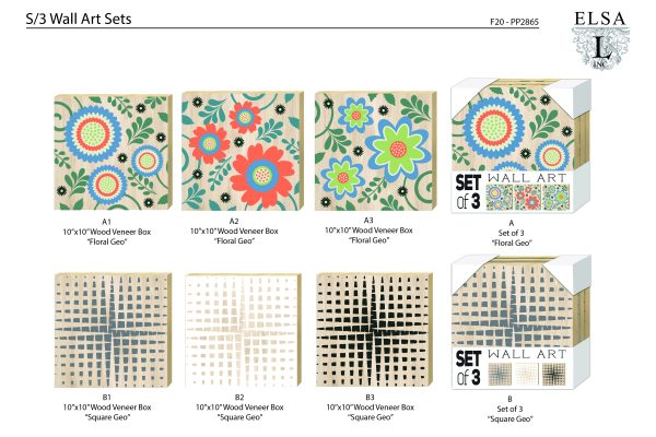 PP2865_EL_Wall Art Sets-GEO