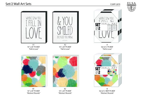 PP2870-ElsaL-Wall Art Sets