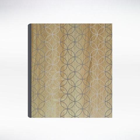 Wood Veneer + Silkscreen